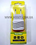 Адаптер живлення від мережі 220V - Smart Mini USB x 2, фото 5