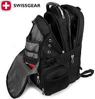 Рюкзак городской спортивный Swissgear 8810 с выходом USB/ AUX + дождевик