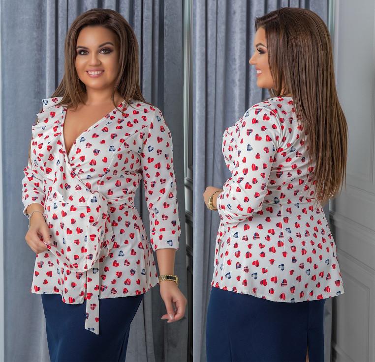 c31fa462c29 Женская блузка с рюшами