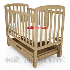 Кроватка детская Woodman Teddy,  цвет - натуральный.