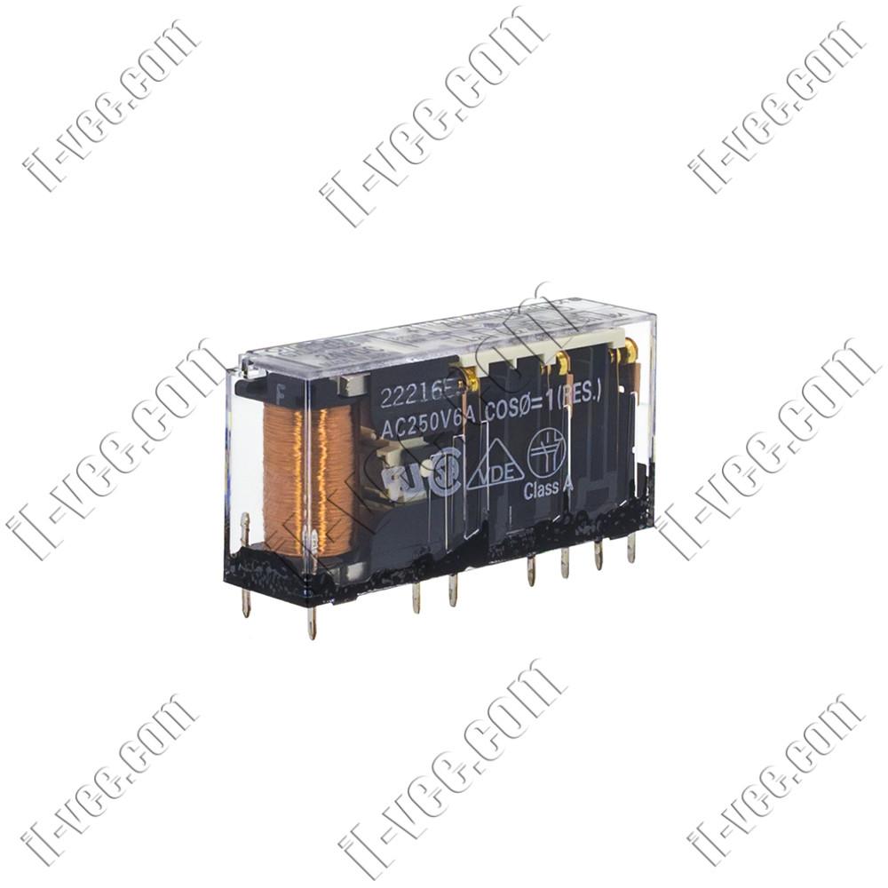 Реле OMRON G7SA-4A2B 24VDC, 6A/250VAC, 6A/125VDC