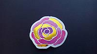 Наклейка с фольгированием цветы