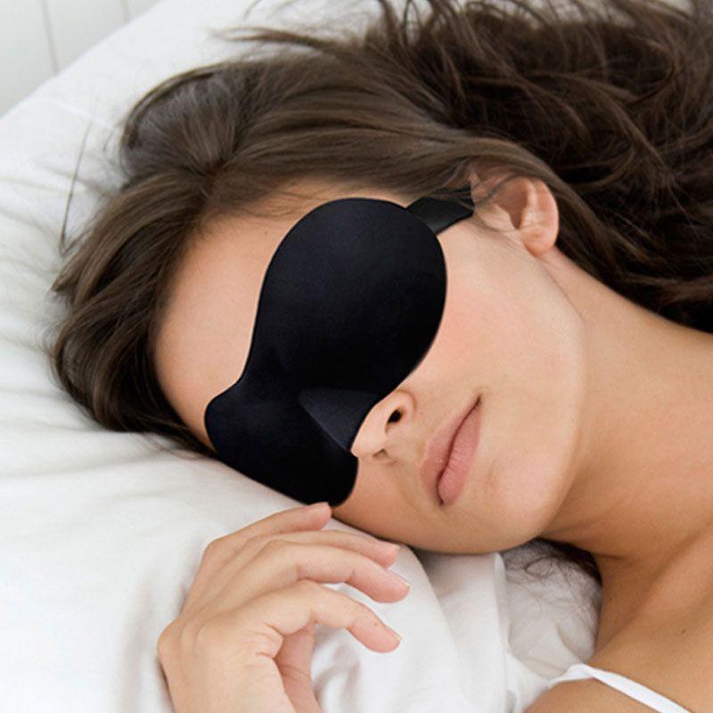 Маска для сна наглазная Luxe black
