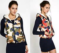 Женская жилетка (безрукавка) Military,