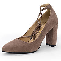 Женские туфли LIICI DT1762-26 Apricot бант - Реплика р.(36, 37, 38, 39, 40)
