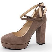 Женские туфли LIICI H095-B668 Apricot на платформе  - Реплика р.(36, 37, 38, 39, 40)