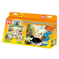 Лежанка оконная для кошки Sunny Seat Window Cat Bed, фото 1