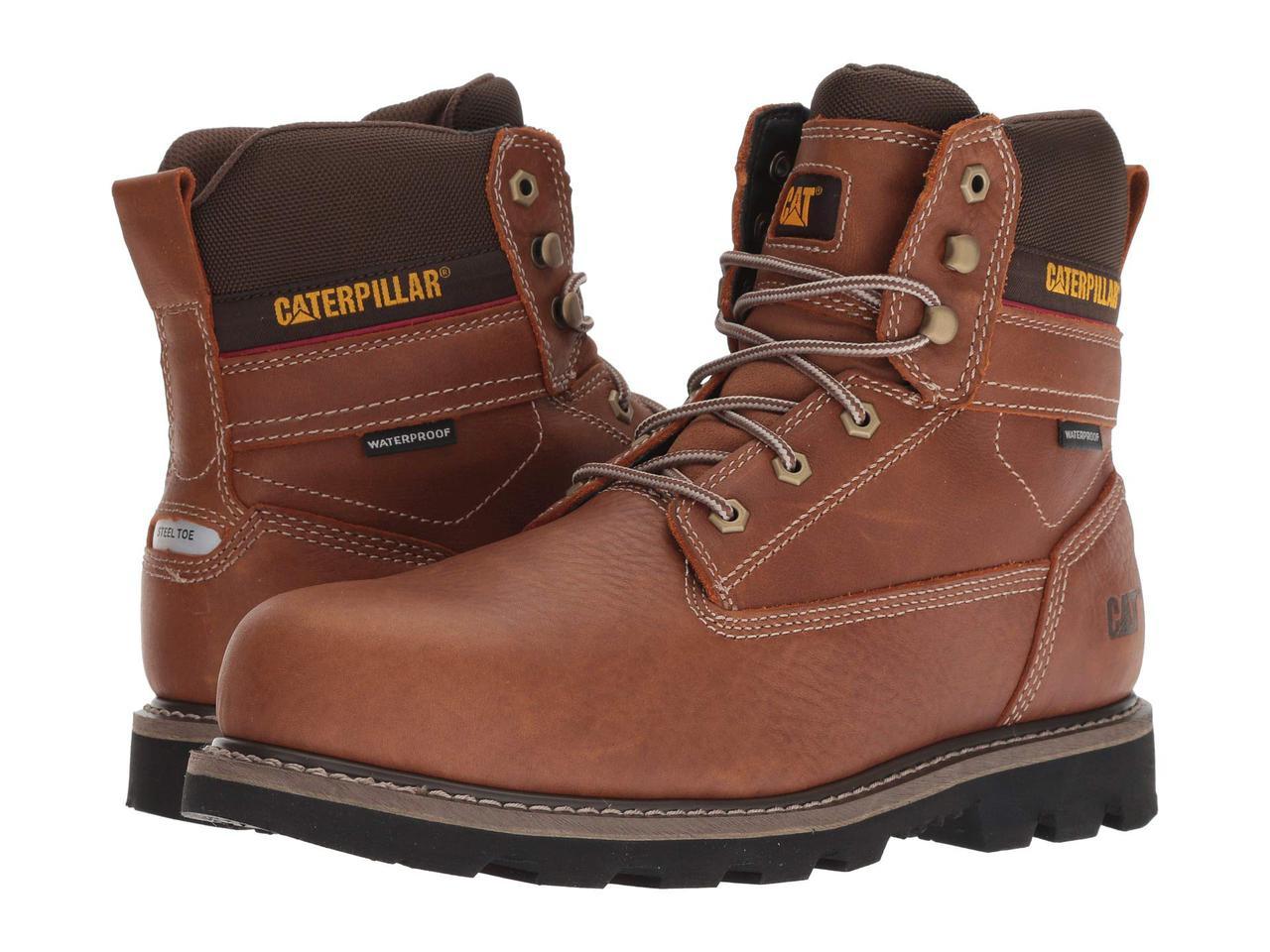 Ботинки/Сапоги (Оригинал) Caterpillar Idaho Steel Toe WP Walnut