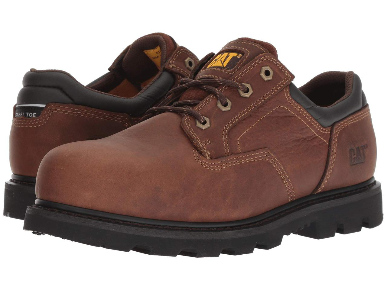 f6fa8d563 Туфли (Оригинал) Caterpillar Ridgemont 2.0 Steel Toe Oak - TopUSA