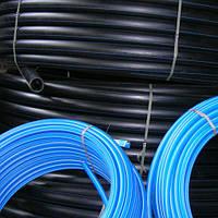 Трубы п/э  для питьевого водоснабжения ф 16-200 мм