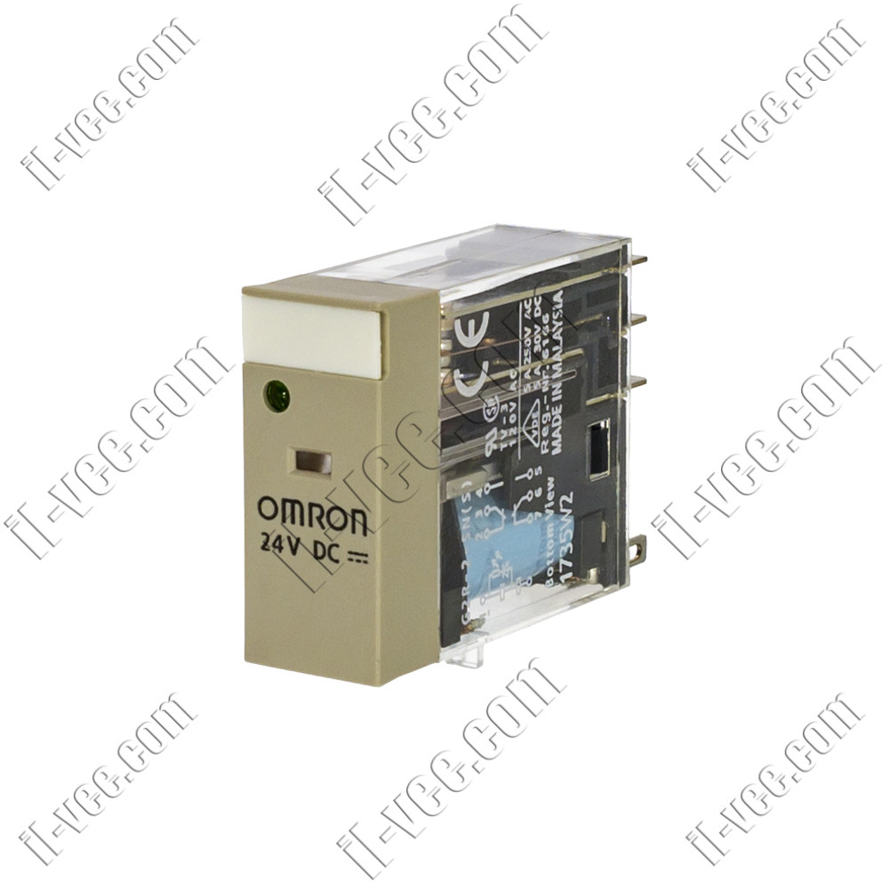 Реле OMRON G2R-2-SN(S) 24VDC, 5A/250VAC, 5A/30VDC
