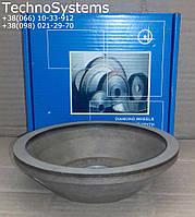 Чашка алмазная 100х10х3х32х22,2 зерно 160/125 концентрация алмазов 100% АЧК (12А2-45°) марка:АС4, связка:В2-01