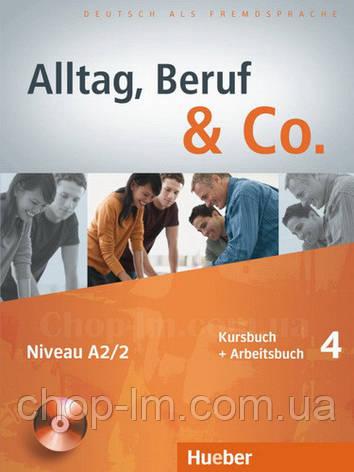 Учебник Alltag, Beruf und Co. 4 Kursbuch + Arbeitsbuch mit Audio-CD zum Arbeitsbuch , фото 2