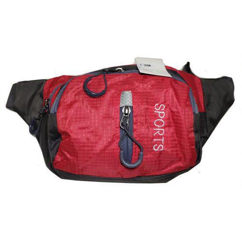 Бананка сумка на пояс MHZ N00551 Red