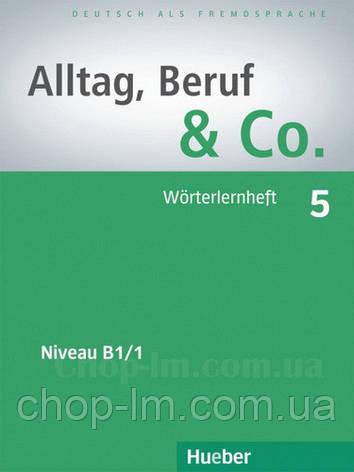 Книга Alltag, Beruf und Co. 5 Worterlernheft , фото 2