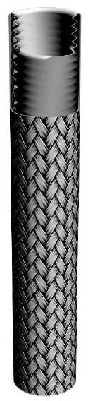 Тефлоновый шланг (рукав), гофрированный. Используется при температурах о—70°С /+ 230°С, 1091