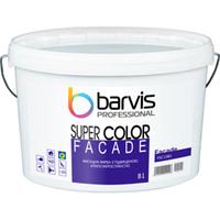 Акриловая фасадная краска для колеровки Barvis Professional Facade Super Color Белая 10 литров
