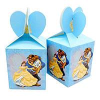 """Коробки подарочные """"Красавица и Чудовище"""". В упак:6 шт."""
