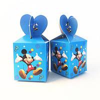 """Коробки подарочные """"Mickey Mouse"""". В упак:6шт."""