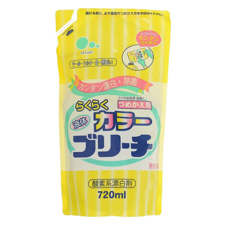 Пятновыводитель кислородный для цветных тканей Mitsuei 720 мл (30185)