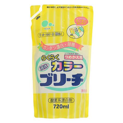 Пятновыводитель кислородный для цветных тканей Mitsuei 720 мл (30185), фото 2