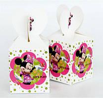 """Коробки подарочные """"Minnie Mouse"""". В упак:6шт."""