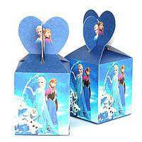 """Коробки подарочные """"Холодное сердце"""". В упак:6шт."""