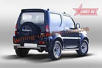 Защита задняя d60 Союз 96 на Suzuki Jimny 2013