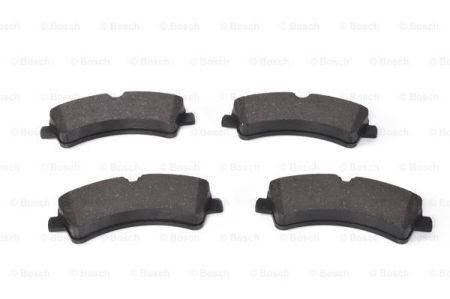 Гальмівні колодки дискові задні DB Sprinter 3-t 04.06-> (Bosch), фото 2