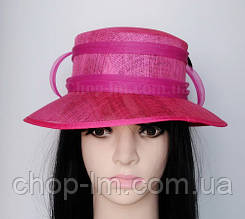 """Шляпа женская """"Совершенство"""" розовая"""