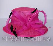"""Шляпа женская """"Совершенство"""" розовая, фото 2"""