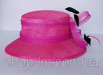 """Шляпа женская """"Совершенство"""" розовая, фото 3"""