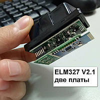 сканер ELM 327, V2.1  OBD2, две платы, VIECAR(блютуз)