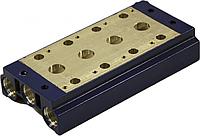Плиты для блочного монтажа типа ПБМ для распределителей 5Р-6(10;16)-211(212...312)-3; 5Р-6(10;16)-233(232...33