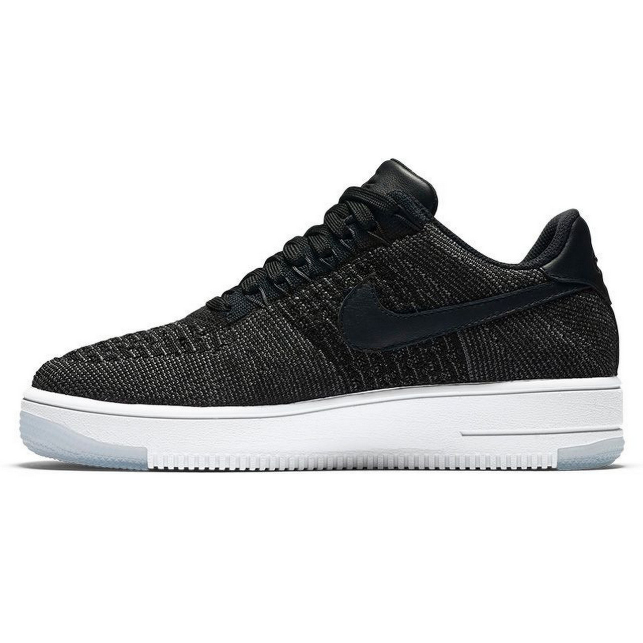 Кроссовки мужские Nike Air Force 1 Ultra Flyknit Low Black (в стиле Найк) 985c399ed14
