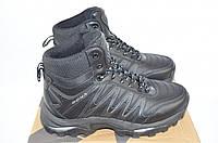 Ботинки подростковые зимние Бона 689С-2-6 чёрные кожа, фото 1