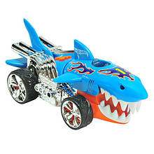 Машина хот вілс Hot Wheels акула гарячі колеса світло і звук 23 см