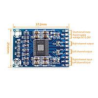 Підсилювач D клас TPA3116D2 2*50 Вт стерео модуль