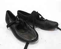 Туфли для степа Steppers, 13 (18.5 см), кожзам, Отл сост!