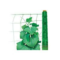 Сетка для поддержки растений Tenax Ортинет зеленая