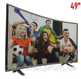 "Телевизор COMER 49"" Smart E49DU1000 Изогнутый"