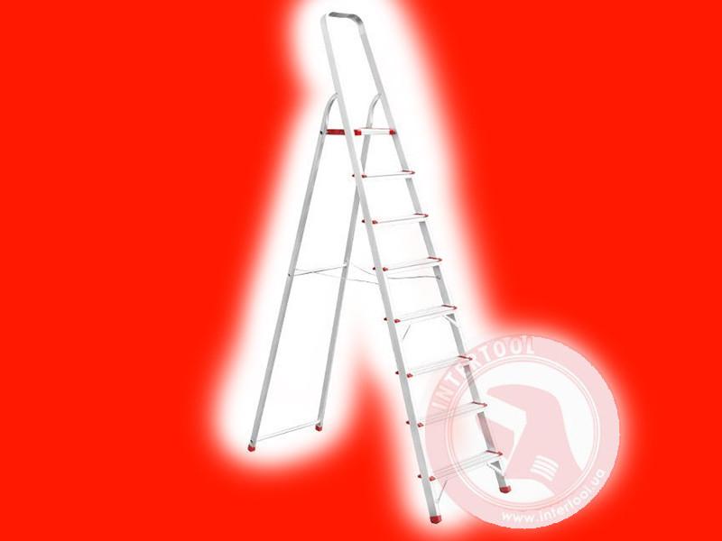 Алюмінієва стрем'янка INTERTOOL LT-1008