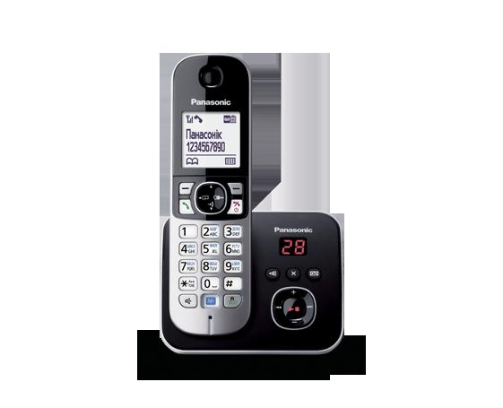 Радиотелефон Panasonic KX-TG6821UAB радиотелефон DECT, фото 2