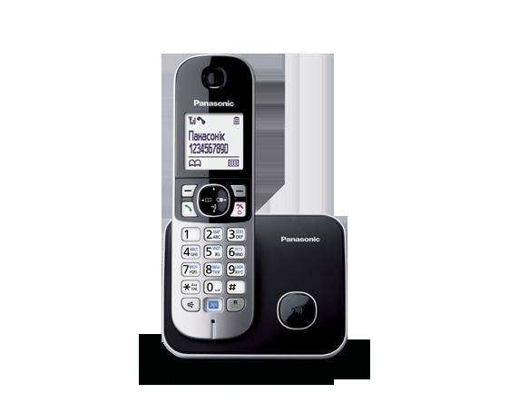 Panasonic KX-TG6811UAB радиотелефон