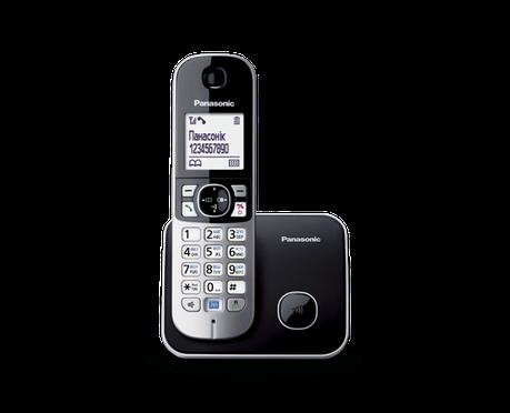 Panasonic KX-TG6811UAB радиотелефон, фото 2