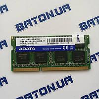 Оперативная память для ноутбука ADATA SODIMM DDR3L 8Gb 1600MHz 12800s CL11, Оригинал, для Intel/AMD, Гарантия