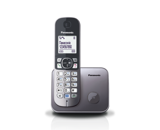 Panasonic KX-TG6811UAM радиотелефон