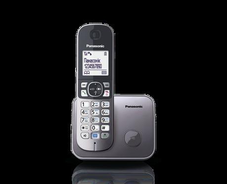 Panasonic KX-TG6811UAM радиотелефон, фото 2