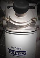 Фильтр сепаратор, Fonho 1097F / UniTruck (Германия), с подогревом дизельного топл. 24В  с подкач. насосом., фото 1