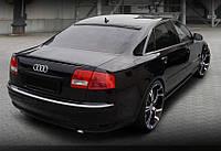 Бленда спойлер на задние стекло Audi A8 D3